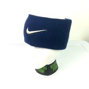 VTG Nike Headband Ear Warmer Stitched Swoosh 90s